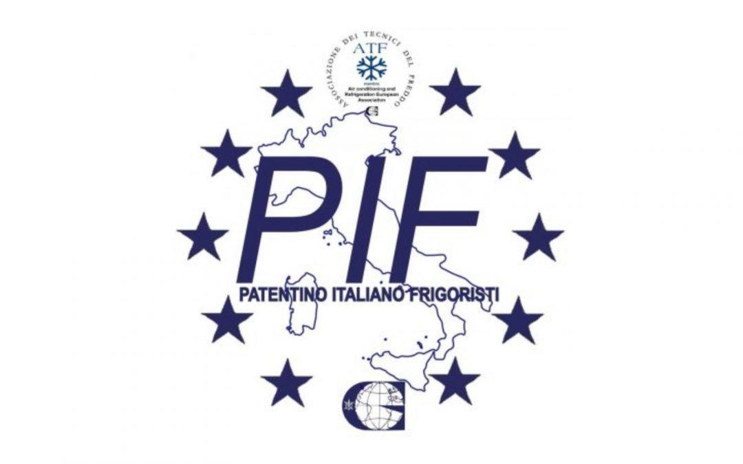 CORSO DI PREPARAZIONE ALL'ESAME PIF E ESAME PATENTINO FRIGORISTA FGAS